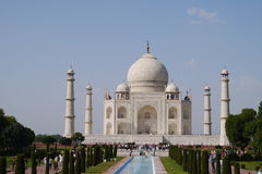 Travel India - Taj Mahal palace. Stock Photo