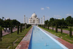Travel India - Taj Mahal palace. Royalty Free Stock Photo