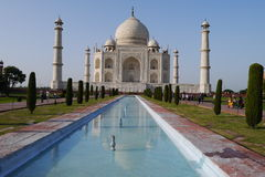 Travel India - Taj Mahal palace Royalty Free Stock Images