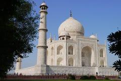 Travel India - Taj Mahal palace rear view. The rear view of Taj Mahal palace in India at Autumn time Royalty Free Stock Photos