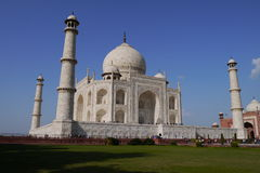 Travel India - Taj Mahal palace rear view Royalty Free Stock Image