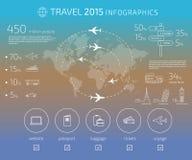 Travel infographic Stock Photo