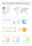 Travel Infographic Elements. Royalty Free Stock Image