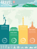Travel infographic. Infographics for business, web sites, presentations, advertising. Travel and Tourism concept. Vector Stock Image