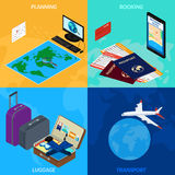 Travel infographic royalty free illustration