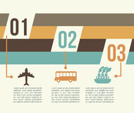 Travel infographics. Over white background vector illustration Stock Illustration