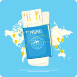Travel Infographics. Royalty Free Stock Images