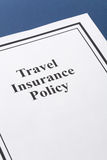 Travel Insurance Royalty Free Stock Photo