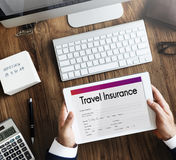 Travel Insurance Claim Form Concept Royalty Free Stock Images