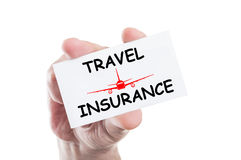 Travel insurance Stock Photography