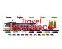 Travel insurance concept Royalty Free Stock Photos
