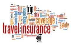 Travel insurance Stock Image