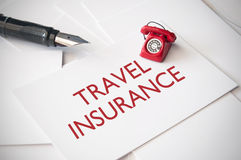 Travel insurance Royalty Free Stock Photography