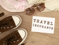 Travel insurance Stock Image
