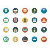 Travel Isolated Vector Icons Set Consist With train, tree, car, taxi, swimming, church and tag vector illustration