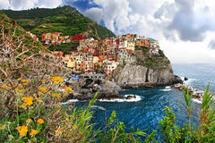 Travel in Italy - Monarolla Royalty Free Stock Photos