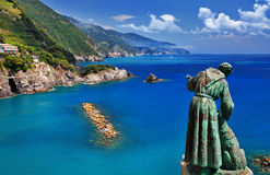 Travel in Italy - Monterosso al mare Royalty Free Stock Photos