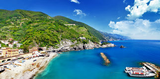 Travel in Italy series - Monterosso al mare Stock Photography
