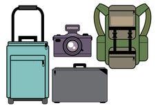 Travel Jaunt Camera Stock Photography