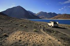 Travel jeep Royalty Free Stock Photo