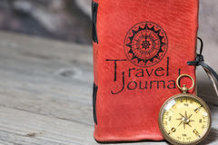 Travel journal Royalty Free Stock Photography