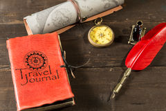 Travel journal Royalty Free Stock Image