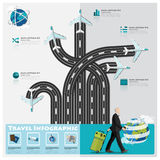 Travel And Journey Business Infographic Royalty Free Stock Image