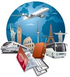 Travel and journey stock images