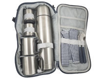 Travel kit traveler scout Royalty Free Stock Image