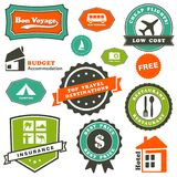 Travel labels set Royalty Free Stock Photo