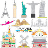 Travel landmark Royalty Free Stock Photos