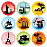 Travel landmarks Stock Photography