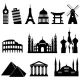 Travel landmarks and monuments Stock Photos
