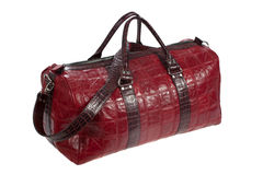 Travel leather bag Royalty Free Stock Images