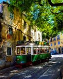 Travel in Lisbon. Tram transport transportation Portugal travelphotography royalty free stock photography