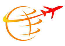 Travel logo Stock Photo