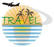 Travel logo 3 Royalty Free Stock Photography