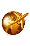 Travel logo Royalty Free Stock Photo
