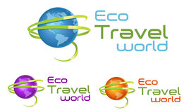 Travel Logo Royalty Free Stock Image