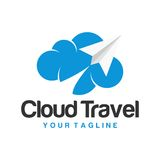 Travel Logo Template Royalty Free Stock Image