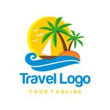 Travel Logo Template Stock Images