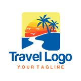 Travel Logo Template Stock Photos