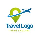 Travel Logo Template Royalty Free Stock Photos
