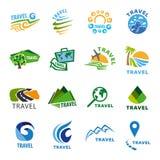 Travel Logo Template Stock Photography