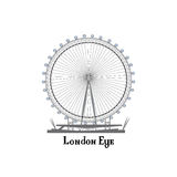 Travel London city famous place. English landmark London sign Stock Image