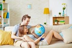 Travel lovers Stock Photo