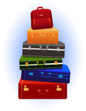 Travel_luggage Stockbild