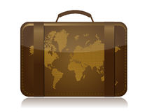Travel luggage illustration concept Stock Photos