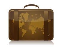 Travel luggage illustration concept Stock Photos