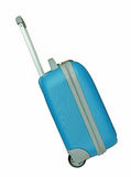 Travel luggage isolated on the white background Royalty Free Stock Image